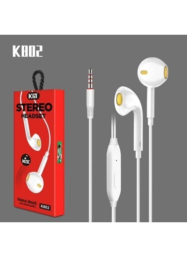 Bludfire K802 Music Kulaklık Beyaz